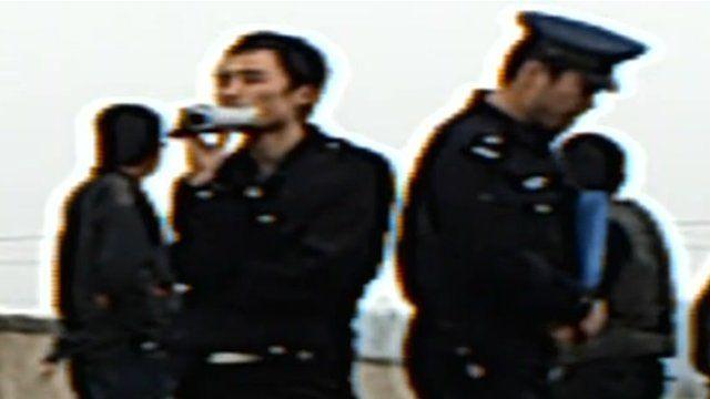 Secret filming of police investigation