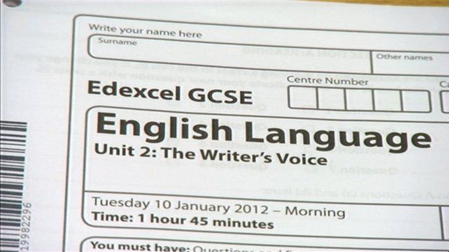 Pupils at the Castle School, Taunton, received far lower grades than predicted in their exams taken in January