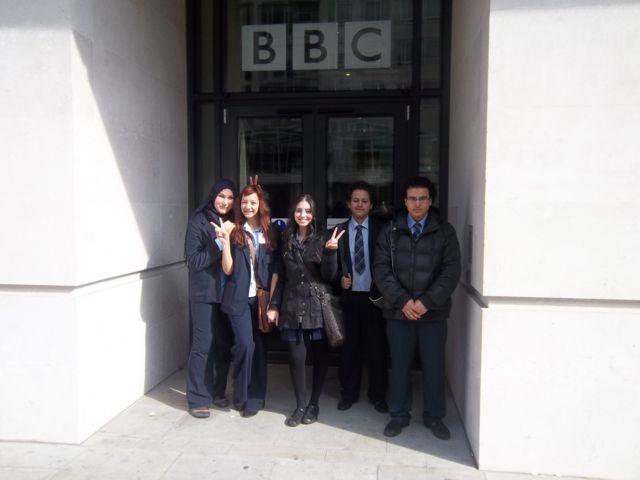 Arabic-speaking students from Paddington Academy
