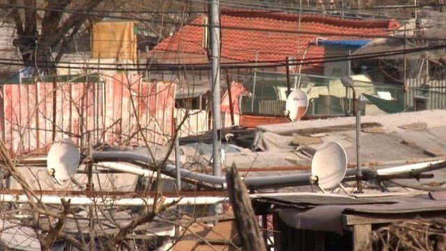Korean shanty town