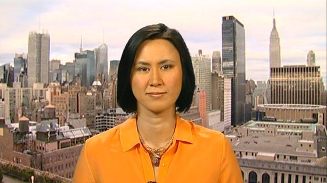 New York business correspondent Michelle Fleury