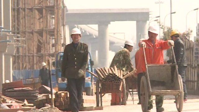 Workers in China