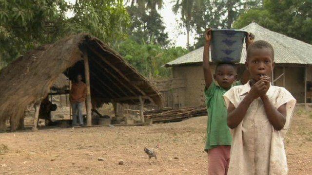 Children in Sierra Leone