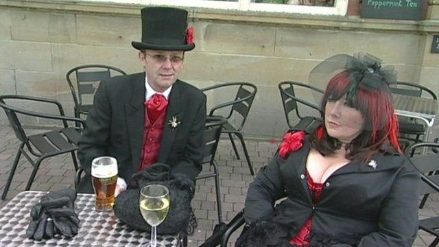 Goths in Whitby