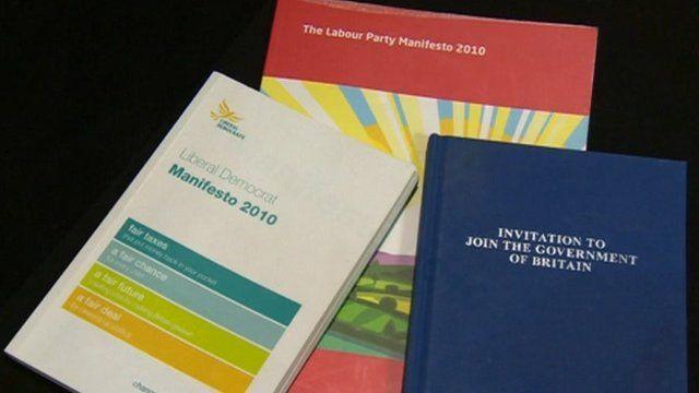 Party manifestos