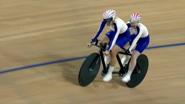 Track paracycling
