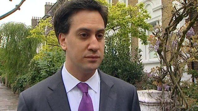 Ed Miliband, Labour leader
