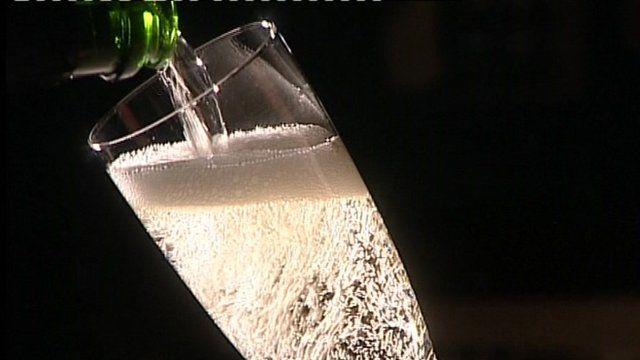 Chilford Hall sparkling wine
