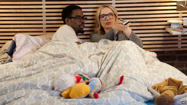 Chris Rock and Julie Delpy in 2 Days in New York