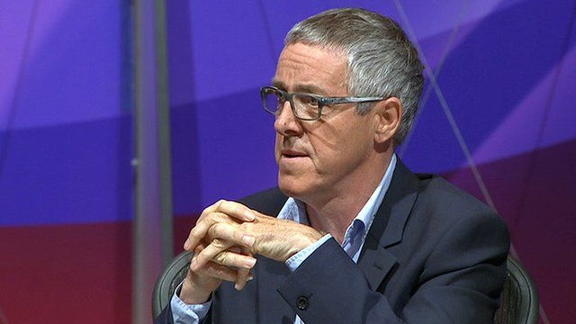 Griff Rhys Jones on Question Time