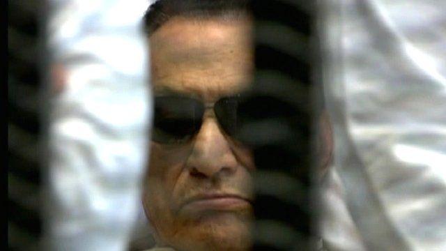 Egypt's ex-President Hosni Mubarak