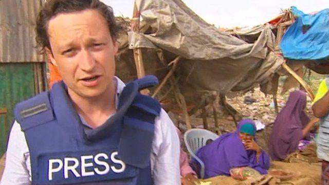 The BBC's Gabriel Gatehouse reports from Mogadishu