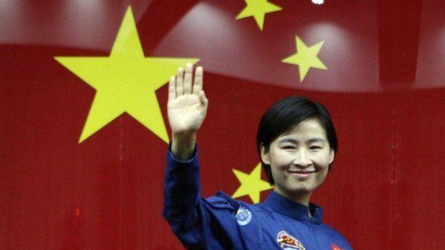 Chinese female astronaut Liu Yang