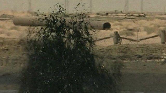 Oil field in Iraq