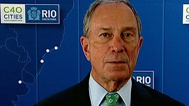 Michael Bloomberg, mayor of New York city, and chair of the C40 group