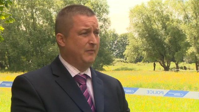 DCI Matt Markham, from West Midlands Police