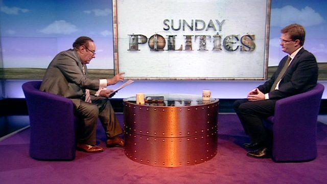 Andrew Neil and Danny Alexander