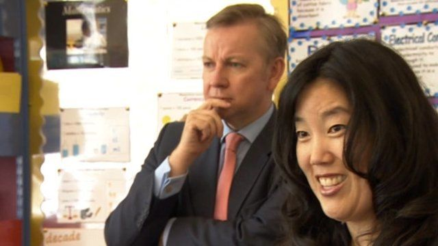 Michael Gove and Michelle Rhee