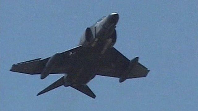 Turkish jet similar to the one shot down