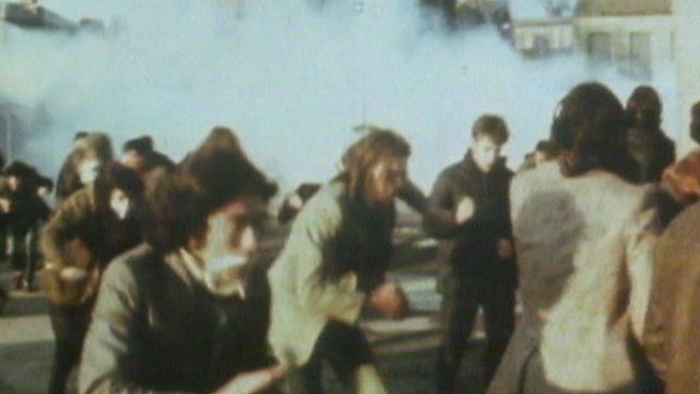 Images from Bloody Sunday