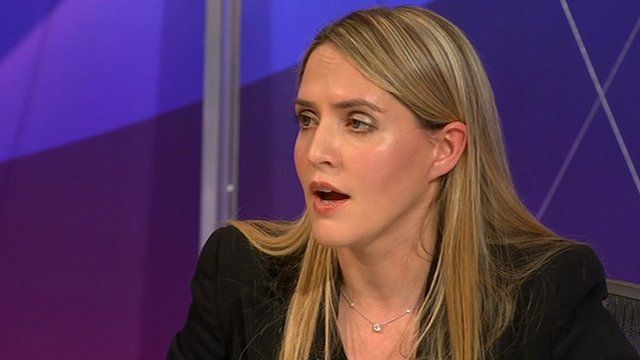 Louise Mensch on Question Time