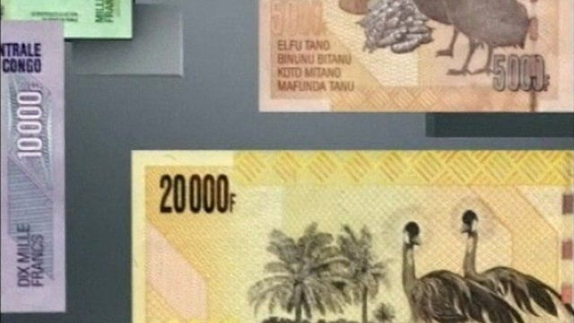 New Congolese francs
