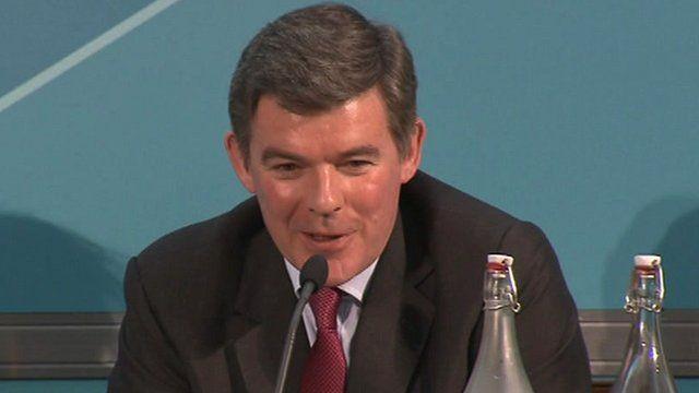 Sports Minister Hugh Robertson