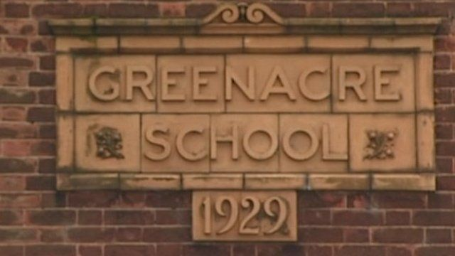 Greenacre School sign