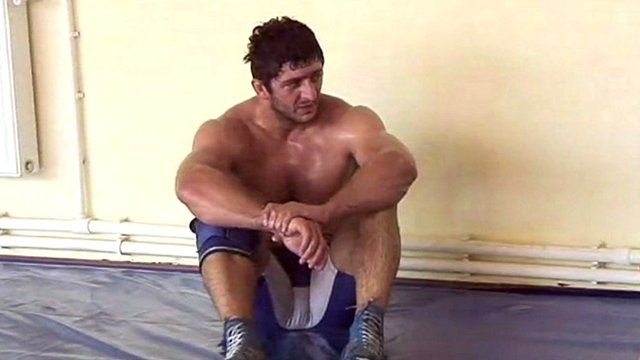 Georgian wrestlers hoping for a peaceful London Olympic Games