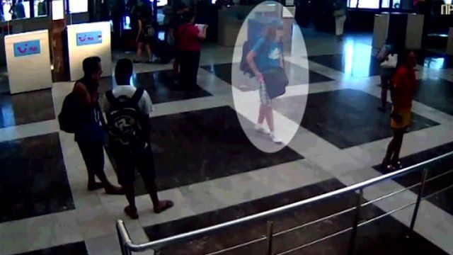 CCTV images of the suspect bomber