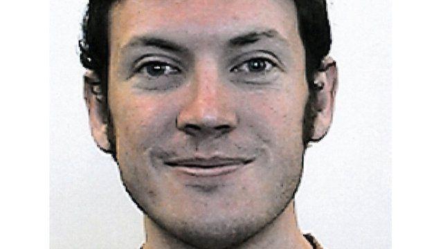 Police mugshot of James Holmes
