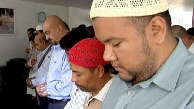 Together in prayer, Muslims started Ramadan in Mexico City