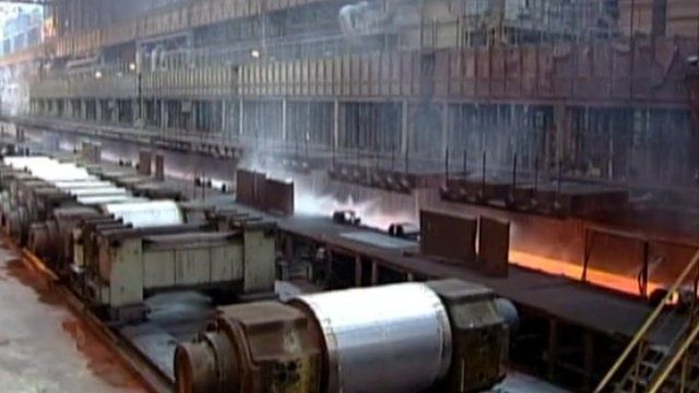 Posco is the world's fourth largest steel manufacturer