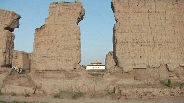 Buddhist temple destroyed by Soviets is rebuilt in Siberia