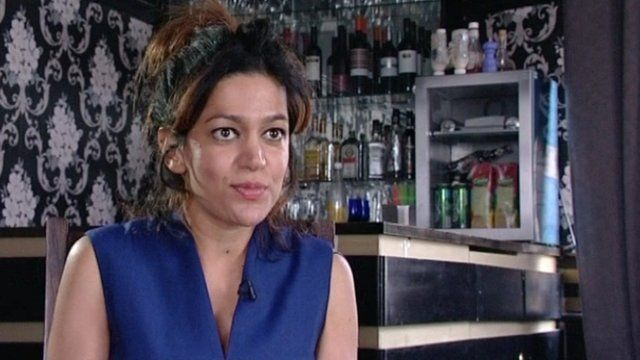 Mahdis Neghabian, the manager of the Camden Eye pub