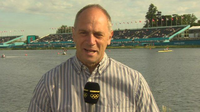 Britain's five times Olympic champion Steve Redgrave
