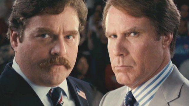 Zach Galifianakis and Will Ferrell