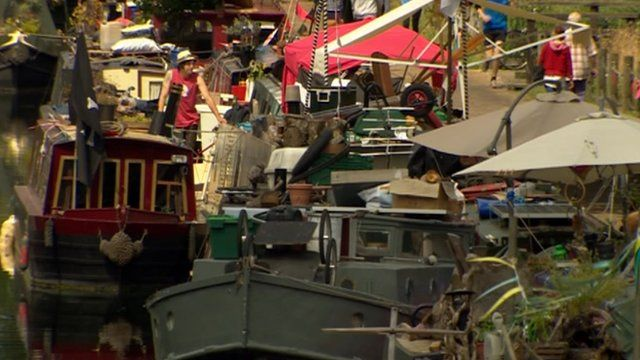 Canal market