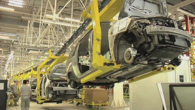 Renault's car plant in Morocco
