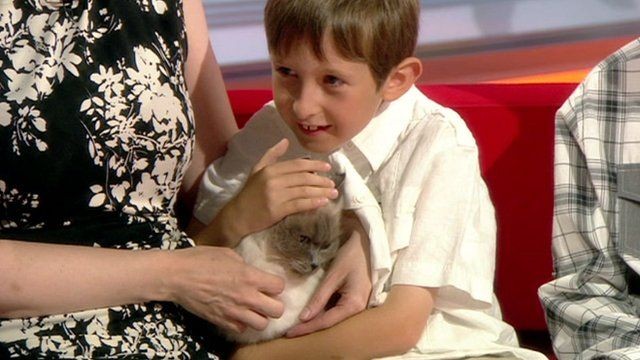 Lorcan Dillon with Jessi-Cat