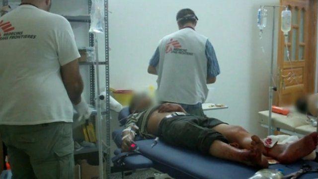 MSF working inside Syria