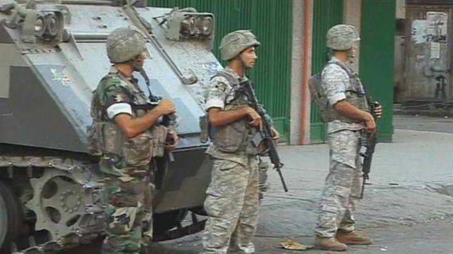 Troops in Tripoli