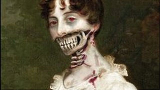 Book cover for Pride and Prejudice and Zombies, by Seth Grahame-Smith