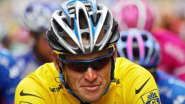 File photo of Lance Armstrong