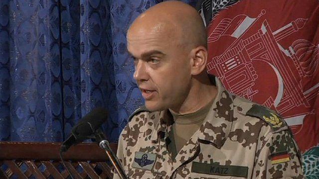 Isaf spokesman Brigadier General Gunter Katz