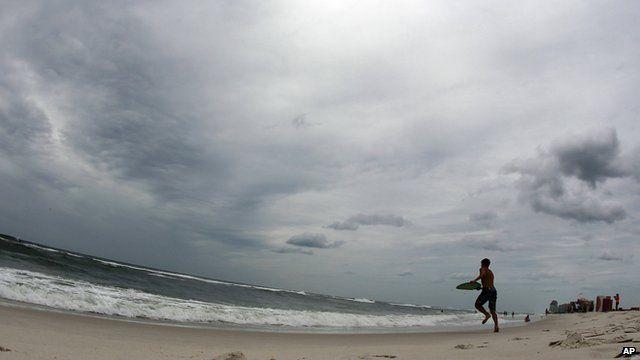 Gulf coast shore