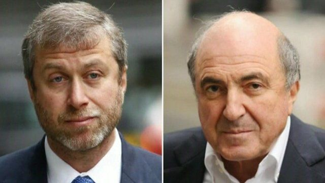 Roman Abramovich and Boris Berezovsky