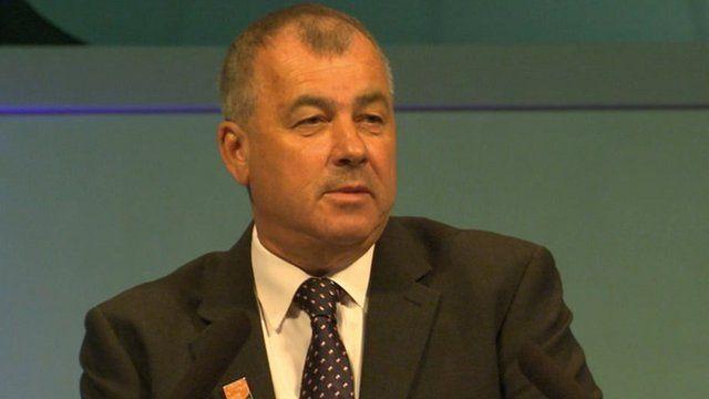 TUC leader Brendan Barber