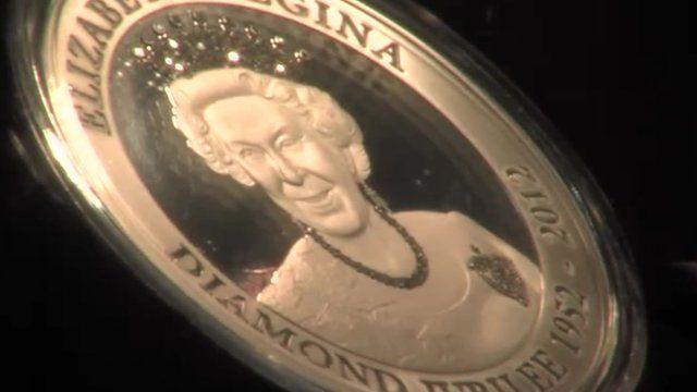 Queen Elizabeth Jubilee coin