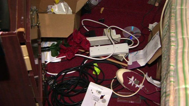 Possessions in burgled house
